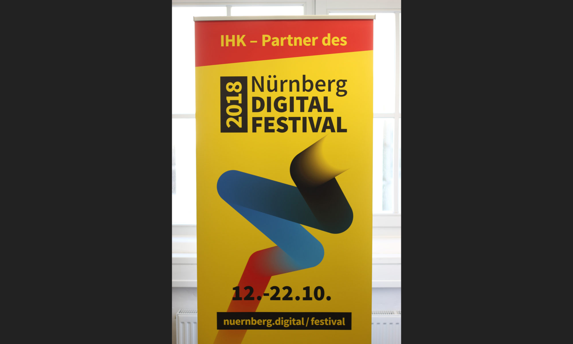 Roll-up NÜRNBERG DIGITAL FESTIVAL 2018