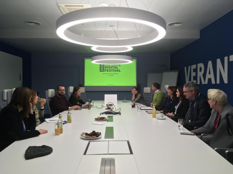 Erstes Sponsoren & Partner-Meetup Nürnberg Digital Festival 2020 bei der TeamBank AG (Foto: Benjamin Ulsamer)